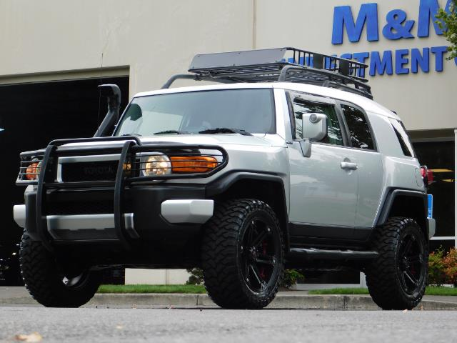 "2007 Toyota FJ Cruiser 4WD V6 DIFF LOCK 20 "" WHEELS LIFTED - Photo 40 - Portland, OR 97217"