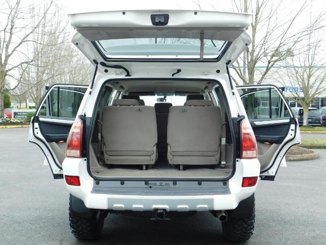 "2004 Toyota 4Runner SR5 SPORT 4X4 6CYL 3RD ROW SEAT LIFTED 33 "" MUD - Photo 11 - Portland, OR 97217"