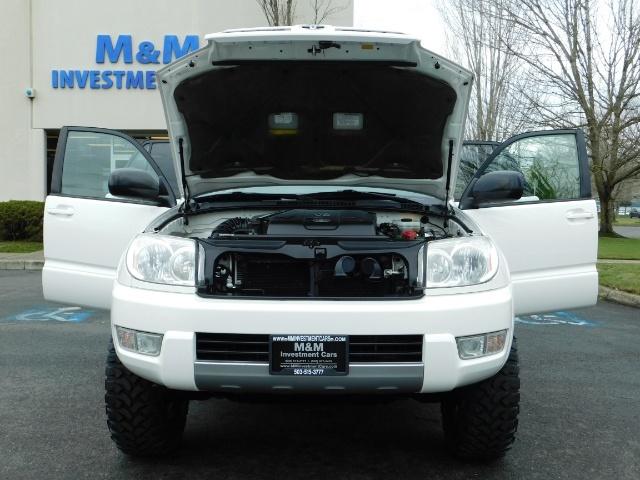 "2004 Toyota 4Runner SR5 SPORT 4X4 6CYL 3RD ROW SEAT LIFTED 33 "" MUD - Photo 31 - Portland, OR 97217"