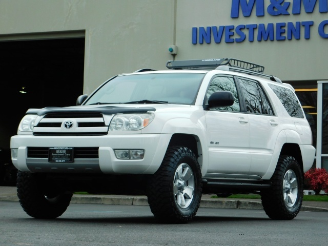 "2004 Toyota 4Runner SR5 SPORT 4X4 6CYL 3RD ROW SEAT LIFTED 33 "" MUD - Photo 44 - Portland, OR 97217"