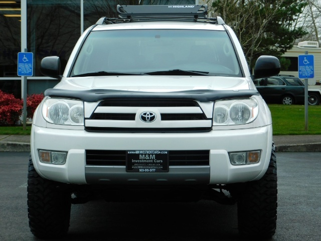 "2004 Toyota 4Runner SR5 SPORT 4X4 6CYL 3RD ROW SEAT LIFTED 33 "" MUD - Photo 5 - Portland, OR 97217"