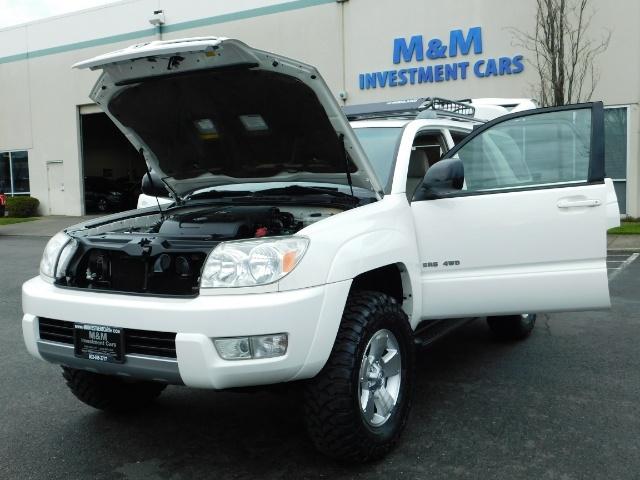 "2004 Toyota 4Runner SR5 SPORT 4X4 6CYL 3RD ROW SEAT LIFTED 33 "" MUD - Photo 25 - Portland, OR 97217"
