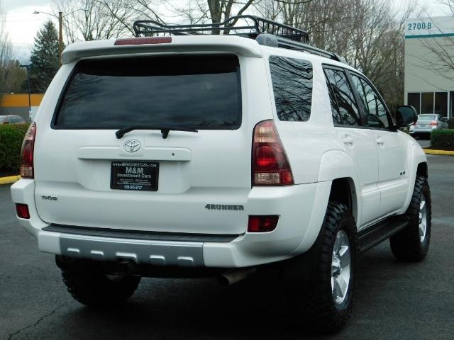 "2004 Toyota 4Runner SR5 SPORT 4X4 6CYL 3RD ROW SEAT LIFTED 33 "" MUD - Photo 8 - Portland, OR 97217"