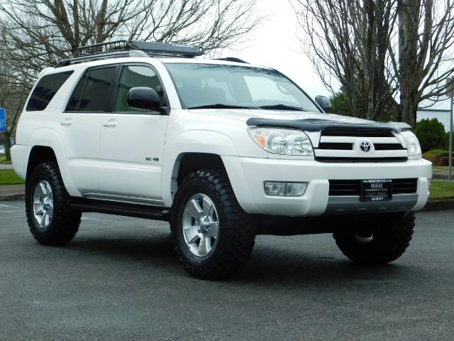 "2004 Toyota 4Runner SR5 SPORT 4X4 6CYL 3RD ROW SEAT LIFTED 33 "" MUD - Photo 2 - Portland, OR 97217"