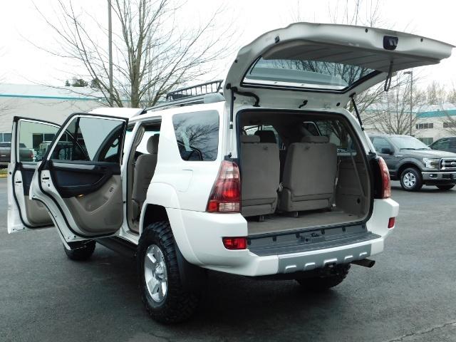 "2004 Toyota 4Runner SR5 SPORT 4X4 6CYL 3RD ROW SEAT LIFTED 33 "" MUD - Photo 26 - Portland, OR 97217"