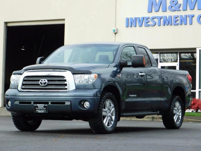 2008 Toyota Tundra Limited 4WD 5.7 1-OWNER / NEW TIRES /SERVICE RECOR - Photo 1 - Portland, OR 97217
