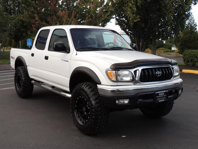 2002 toyota tacoma v6 4dr double cab sr5 4x4 trd off rd lifted. Black Bedroom Furniture Sets. Home Design Ideas