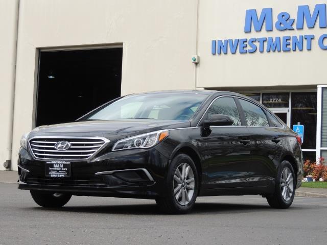 2016 Hyundai Sonata SE / Sedan / Back up camera / Factory Warranty - Photo 33 - Portland, OR 97217