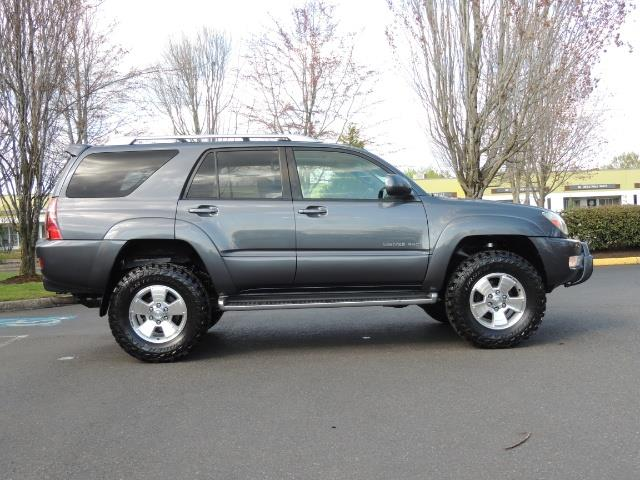 Nice 2003 Toyota 4Runner LIMITED / V6 4WD / LEATHER / DIFF LOCK / LIFTED !