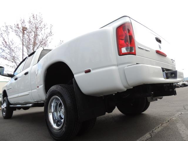 2006 Dodge Ram 3500 SLT / 4X4 / 5.9L CUMMINS DIESEL / LEATHER / DUALLY - Photo 11 - Portland, OR 97217
