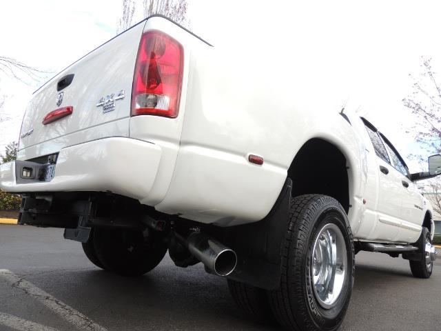 2006 Dodge Ram 3500 SLT / 4X4 / 5.9L CUMMINS DIESEL / LEATHER / DUALLY - Photo 12 - Portland, OR 97217