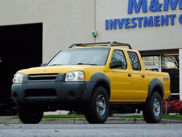 2001 Nissan Frontier XE 4-dr / OFF ROAD 4X4 / Crew Cab / V6 / MANUAL !! - Photo 36 - Portland, OR 97217