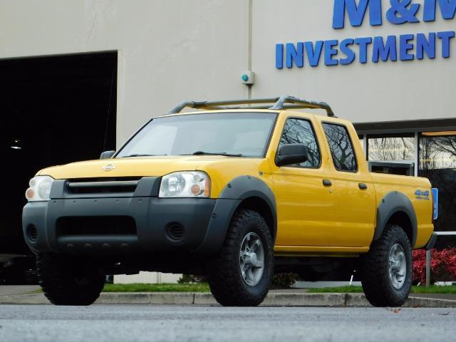 2001 Nissan Frontier XE 4-dr / OFF ROAD 4X4 / Crew Cab / V6 / MANUAL !! - Photo 1 - Portland, OR 97217