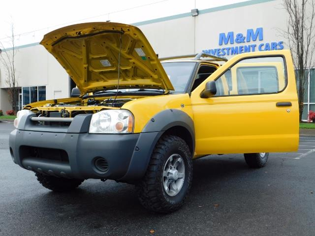 2001 Nissan Frontier XE 4-dr / OFF ROAD 4X4 / Crew Cab / V6 / MANUAL !! - Photo 35 - Portland, OR 97217