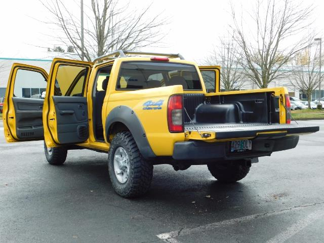 2001 Nissan Frontier XE 4-dr / OFF ROAD 4X4 / Crew Cab / V6 / MANUAL !! - Photo 29 - Portland, OR 97217