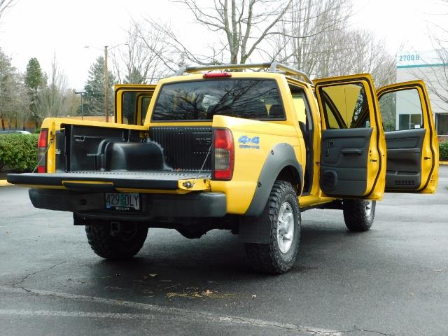 2001 Nissan Frontier XE 4-dr / OFF ROAD 4X4 / Crew Cab / V6 / MANUAL !! - Photo 31 - Portland, OR 97217