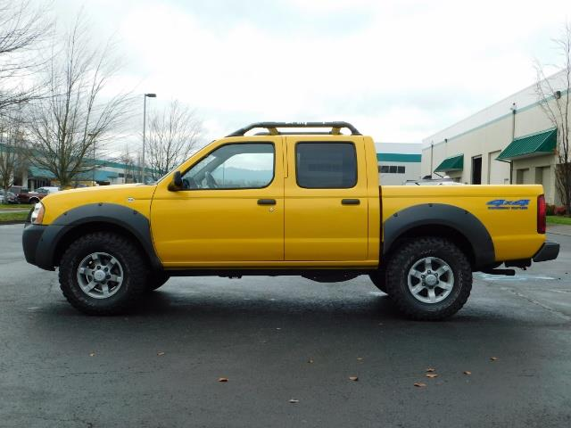 2001 Nissan Frontier XE 4-dr / OFF ROAD 4X4 / Crew Cab / V6 / MANUAL !! - Photo 3 - Portland, OR 97217