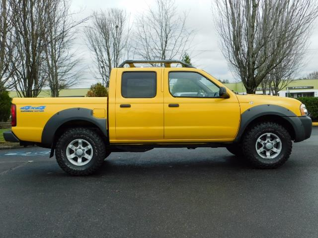 2001 Nissan Frontier XE 4-dr / OFF ROAD 4X4 / Crew Cab / V6 / MANUAL !! - Photo 4 - Portland, OR 97217