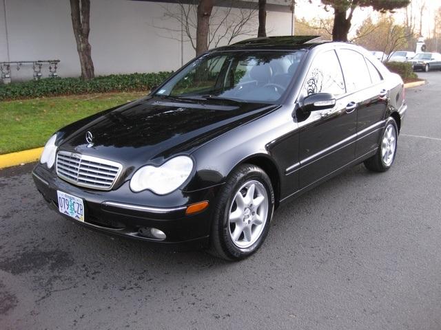2003 mercedes benz c240 4matic 4wd for Mercedes benz 4wd
