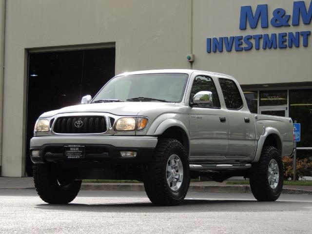 2002 Toyota Tacoma Limited V6 4dr Double Cab / 4X4 / RR DIFF LOCKS - Photo 44 - Portland, OR 97217