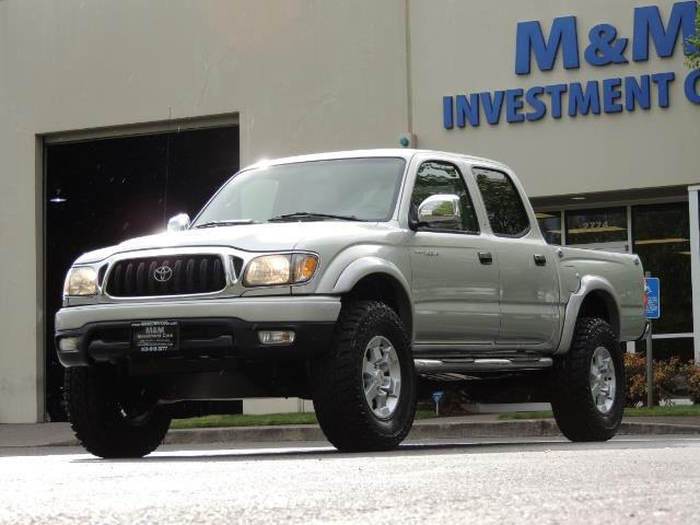 2002 Toyota Tacoma Limited V6 4dr Double Cab / 4X4 / RR DIFF LOCKS - Photo 46 - Portland, OR 97217