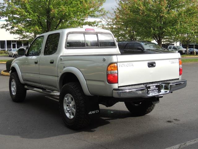 2002 Toyota Tacoma Limited V6 4dr Double Cab / 4X4 / RR DIFF LOCKS - Photo 7 - Portland, OR 97217