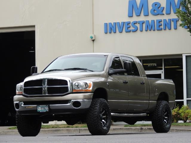 2006 Dodge Ram 2500 SLT SLT 4dr Mega Cab / 4X4 / 5.9L CUMMINS DIESEL - Photo 41 - Portland, OR 97217