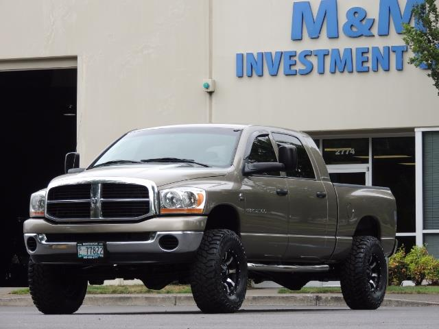 2006 Dodge Ram 2500 SLT SLT 4dr Mega Cab / 4X4 / 5.9L CUMMINS DIESEL - Photo 46 - Portland, OR 97217