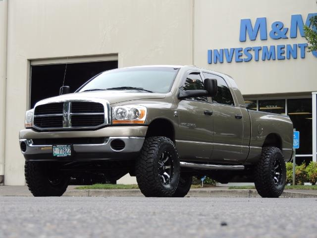 2006 Dodge Ram 2500 SLT SLT 4dr Mega Cab / 4X4 / 5.9L CUMMINS DIESEL - Photo 42 - Portland, OR 97217