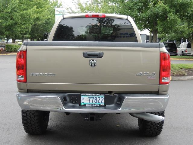 2006 Dodge Ram 2500 SLT SLT 4dr Mega Cab / 4X4 / 5.9L CUMMINS DIESEL - Photo 6 - Portland, OR 97217