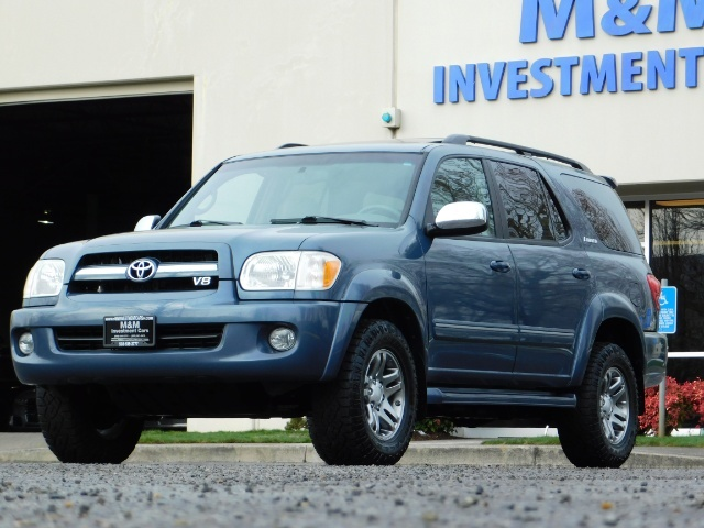 2007 Toyota Sequoia Limited 4Dr SUV / Leather / 3rd Seat / Timing Belt - Photo 49 - Portland, OR 97217