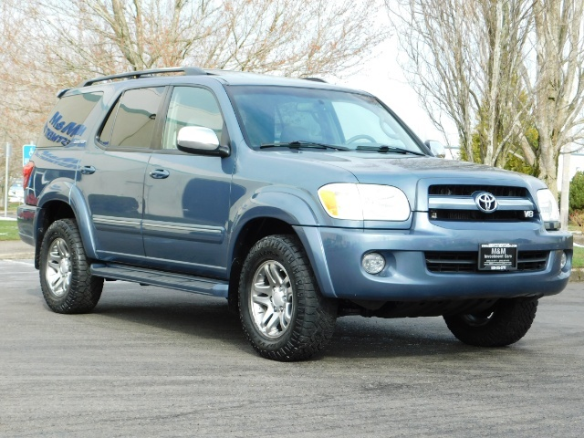 2007 Toyota Sequoia Limited 4Dr SUV / Leather / 3rd Seat / Timing Belt - Photo 2 - Portland, OR 97217