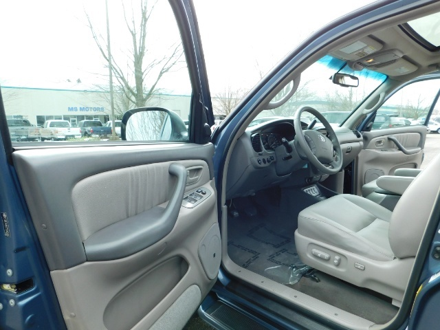 2007 Toyota Sequoia Limited 4Dr SUV / Leather / 3rd Seat / Timing Belt - Photo 13 - Portland, OR 97217