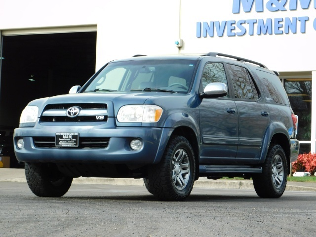2007 Toyota Sequoia Limited 4Dr SUV / Leather / 3rd Seat / Timing Belt - Photo 47 - Portland, OR 97217