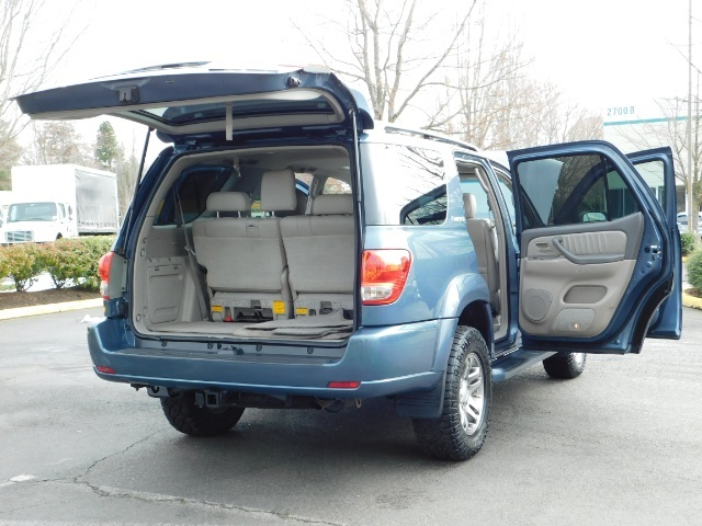 2007 Toyota Sequoia Limited 4Dr SUV / Leather / 3rd Seat / Timing Belt - Photo 31 - Portland, OR 97217