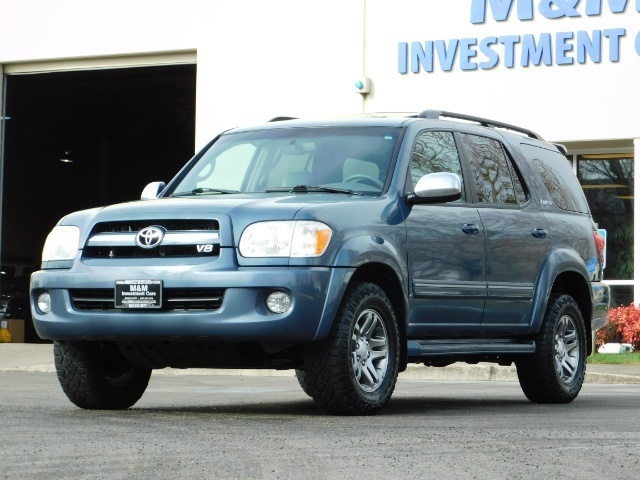 2007 Toyota Sequoia Limited 4Dr SUV / Leather / 3rd Seat / Timing Belt - Photo 1 - Portland, OR 97217