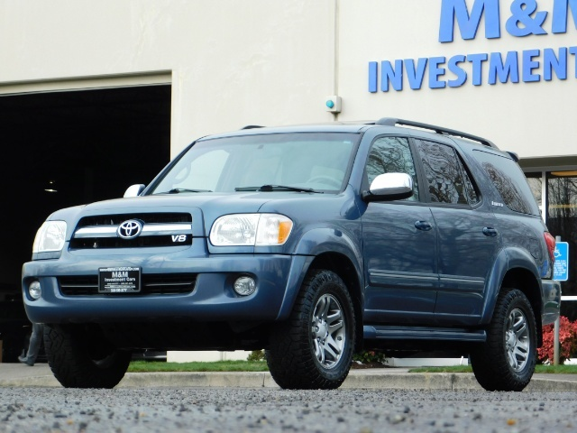 2007 Toyota Sequoia Limited 4Dr SUV / Leather / 3rd Seat / Timing Belt - Photo 48 - Portland, OR 97217
