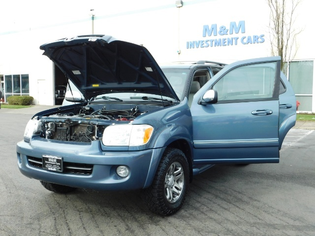 2007 Toyota Sequoia Limited 4Dr SUV / Leather / 3rd Seat / Timing Belt - Photo 25 - Portland, OR 97217