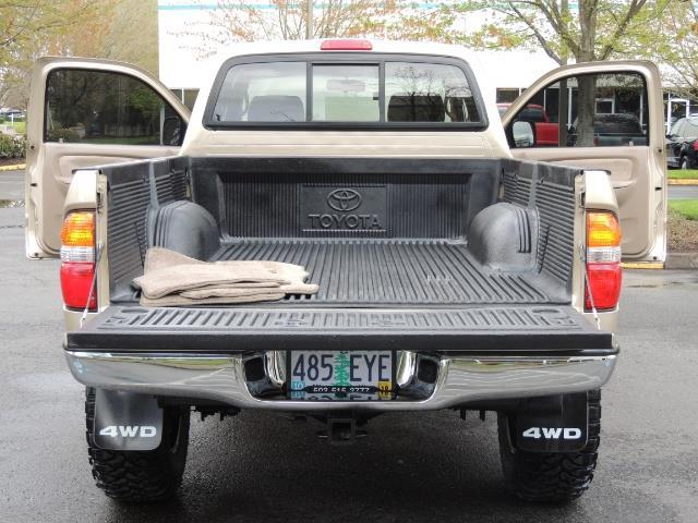 2003 Toyota Tacoma 2dr Xtracab V6 / SR5 / 4X4 / 5-SPEED MANUAL/LIFTED - Photo 21 - Portland, OR 97217