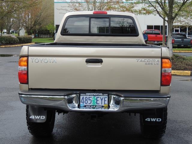 2003 Toyota Tacoma 2dr Xtracab V6 / SR5 / 4X4 / 5-SPEED MANUAL/LIFTED - Photo 6 - Portland, OR 97217