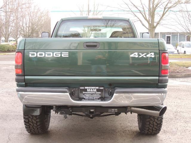 2001 Dodge Ram 2500 Quad Cab 4X4 5.9 L CUMMINS DIESEL / CUSTOM BUILT - Photo 7 - Portland, OR 97217