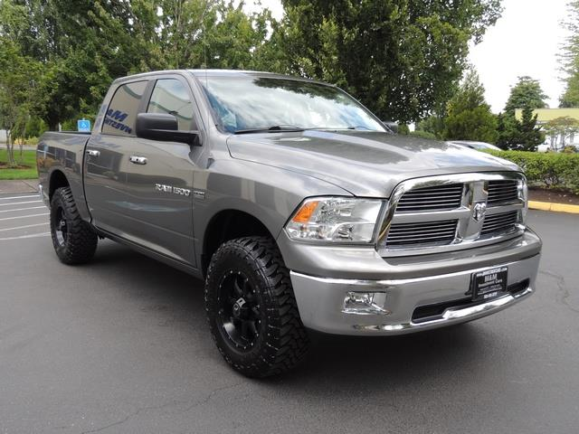 2012 Ram 1500 Big Horn Crew Cab 4x4 1 Owner Lifted