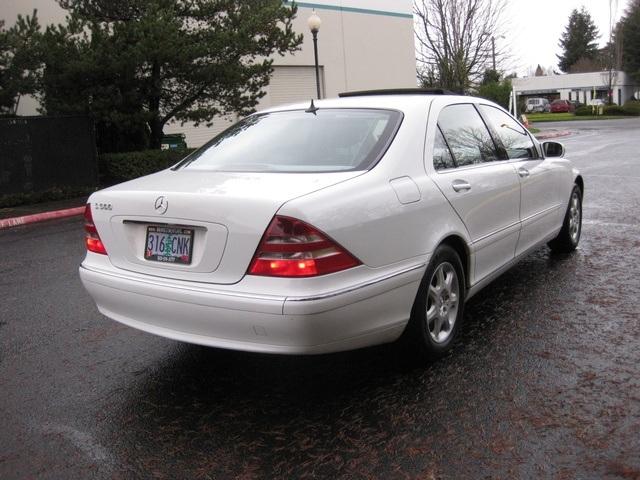 2000 Mercedes Benz S500/ Luxury Sedan / Navigation   Photo 5   Portland,
