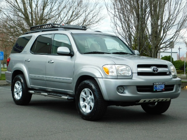 2005 Toyota Sequoia 4WD / V8 , 4.7L / 3RD ROW SEATS / TIMING BELT DONE - Photo 2 - Portland, OR 97217