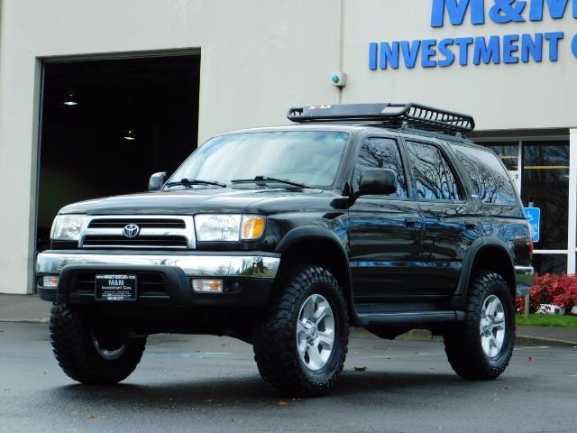 1999 Toyota 4Runner SR5 4WD V6 3.4L / LEATHER / TIMING BELT / LIFTED ! - Photo 40 - Portland, OR 97217