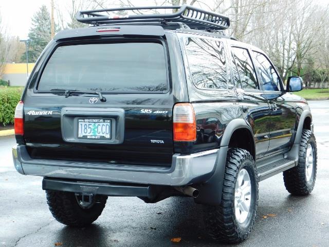 1999 Toyota 4Runner SR5 4WD V6 3.4L / LEATHER / TIMING BELT / LIFTED ! - Photo 8 - Portland, OR 97217