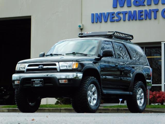 1999 Toyota 4Runner SR5 4WD V6 3.4L / LEATHER / TIMING BELT / LIFTED ! - Photo 38 - Portland, OR 97217