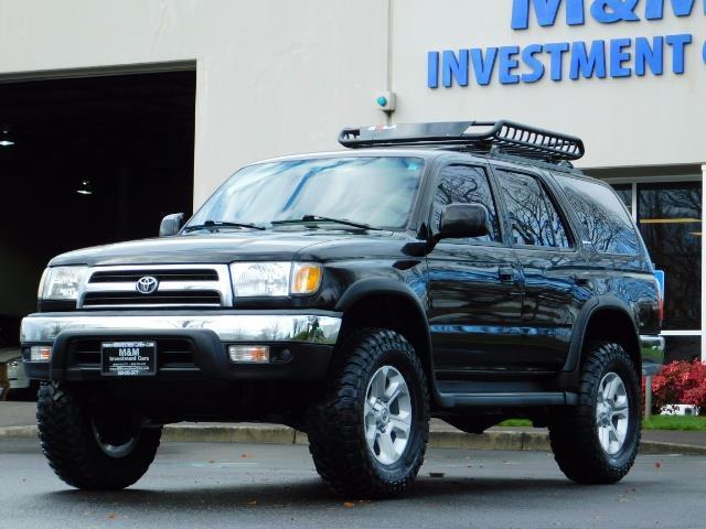 1999 Toyota 4Runner SR5 4WD V6 3.4L / LEATHER / TIMING BELT / LIFTED ! - Photo 1 - Portland, OR 97217