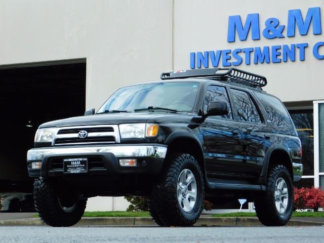 1999 Toyota 4Runner SR5 4WD V6 3.4L / LEATHER / TIMING BELT / LIFTED ! - Photo 39 - Portland, OR 97217
