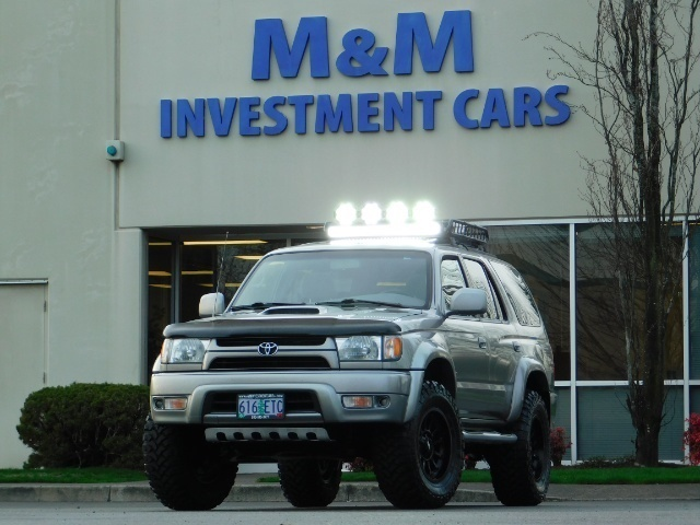 2002 Toyota 4Runner SR5 SPORT EDITION    TIMING BELT    LIFTED LIFTED - Photo 58 - Portland, OR 97217